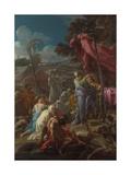 The Brazen Serpent  1744