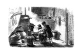 Woman Preparing Cakes for the Chinese New Year  1861