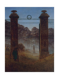 The Cemetery  Ca 1825