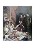 Death of Queen Elizabeth  1892
