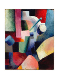 Colored Composition of Forms  1914