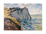 The Cliff of Aval  Etrétat  1885