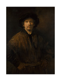 Large Self-Portrait  1652
