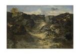 Rocky Landscape  C 1840