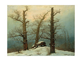 Cairn in Snow  1807