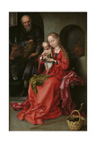 The Holy Family  1480-1490