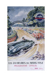 The Official Programme for Le Mans 24 Hours  1954