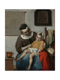 The Sick Child  Ca 1663