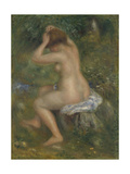 A Bather  Ca 1886-1890