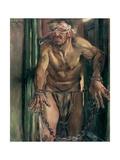 The Blinded Samson  1912