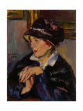Woman with a Dark Hat  1917