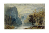 The Lorelei Rock  1817