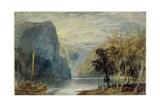 The Lorelei Rock  1817