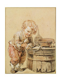Boy with a Broken Egg  Ca 1756