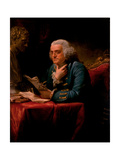 Portrait of Benjamin Franklin  1767