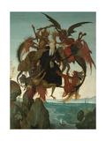 The Torment of Saint Anthony Giclée par Michelangelo Buonarroti