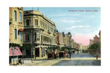 Boulevard Callao  Buenos Aires  Argentina  Late 19th or Early 20th Century