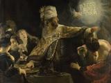 Belshazzar's Feast  Ca 1637