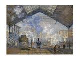 The Gare Saint Lazare  1877