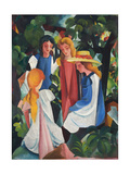Four Girls  1912-1913