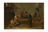 Backgammon Players  C 1645