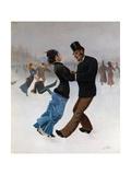 Ice Skaters  C 1920