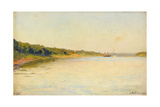 The Volga River Bank  1889