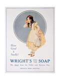 Advert for Wright's Coal Tar Soap  1923