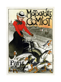 Motocycles Comiot, 1899 Giclée par Théophile Alexandre Steinlen
