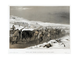 British Troops on the Road to Sevastopol  1855