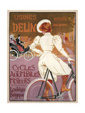 Delin Cycles Automobiles Moteurs  1898