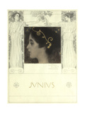 Junius, 1896 Giclée par Gustav Klimt