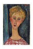 La Blonde Aux Boucles D'Oreille  1918-1919
