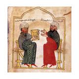 Armenian Gospels: Portrait of the Patron of the Manuscript and His Son