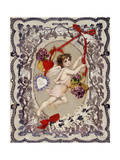 Valentine's Day Card  1860S-1870S