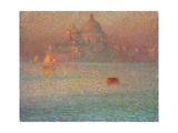 Fireworks Winter Morning in Venice  1907