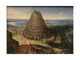 The Tower of Babel  1594