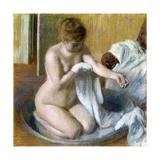 Femme Au Tub  Ca 1883