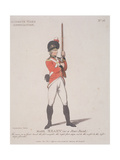 Member of the Aldgate Ward Association Holding a Rifle  1798