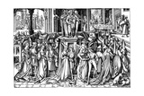 The Dance at the Court of Herod  C 1500
