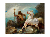 Neptune Creating the Horse  Ca 1845