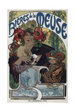 Poster for the Bieres De La Meuse  1897