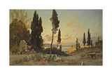 Views across the Bosphorus  Constantinople