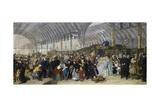 The Railway Station  1866