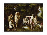 Diana and Actaeon  Ca 1595