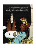 Vintage French Postcard  C1900