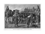 The Slave Trade in Africa: a Gang on the March, C1875 Giclée