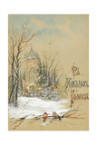 Design for New Year Card  1896