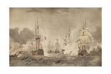 The Battle of the Nile  C 1800