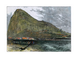 The Rock of Gibraltar  C1880